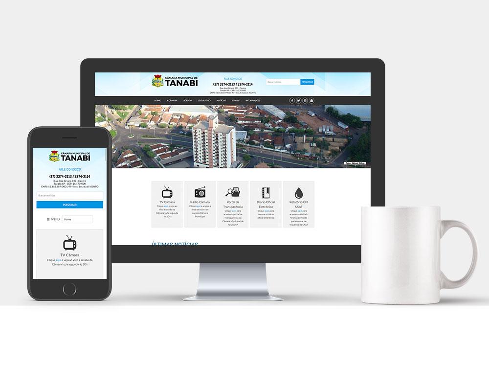 Projeto CM Tanabi - Agência Network