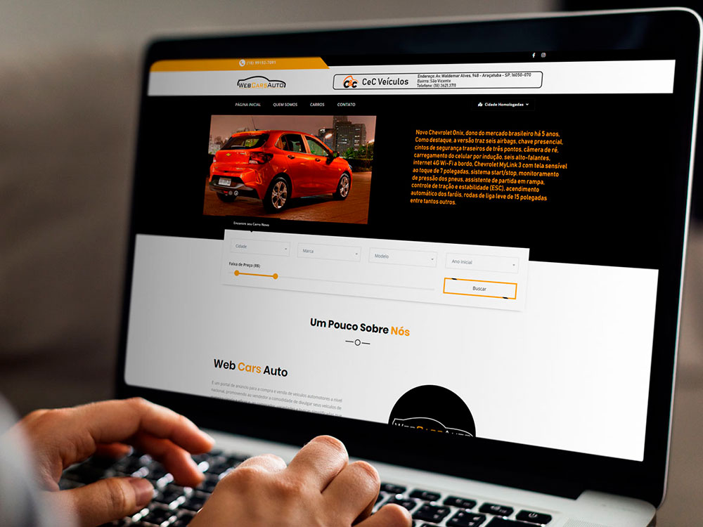 Projeto WebCarsAuto - Agência Network